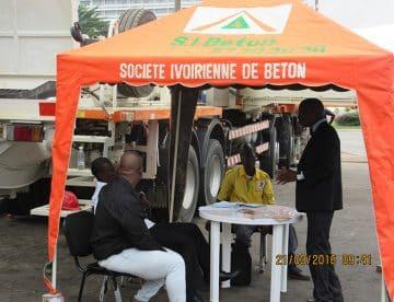 La 4ème édition du Forum économique (CEO AFRICA) organisé par Jeune Afrique Economique s'est tenue à Sofitel Hôtel Ivoire. Lors de ce Forum, S.I.BETON a fait une exposition de Camion Pompe et Toupie.