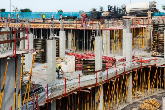 construction en béton